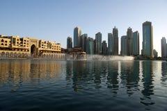 Famous dubai musical fountain, United Arab Emirates Stock Photos