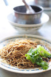 Famous duck leg noodle Stock Photos