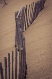 The Famous dune of Pyla fences, the highest sand dune in Europe Stock Images