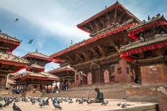 The famous Durbar square, Kathmandu Royalty Free Stock Photo