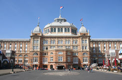 Famous Dutch Hotel. Famous seaside hotel in The Hague royalty free stock photo
