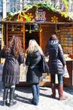 Famous easter market, Wenceslas square, Prague, Czech republic Stock Image