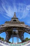 The famous  Eiffel Tower Stock Photos