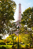 Famous Eiffel Tower in Paris, France. Stock Images