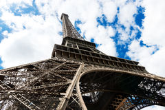 Famous Eiffel Tower in Paris Royalty Free Stock Photos
