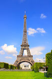 Famous Eiffel tower in Paris, France Royalty Free Stock Photo