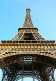 The famous Eiffel Tower, Paris. Royalty Free Stock Images