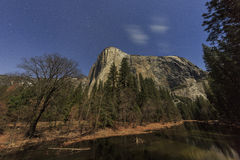 The famous El capitan of Yosemite Royalty Free Stock Photo