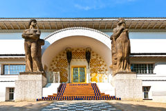 Famous entrance to the Ernst-Ludwig. House at the mathildenhoehe Stock Image