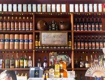 Famous Ernest Hemingway bar in Cuba, Havana Royalty Free Stock Photos