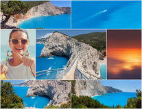 Famous European beach Porto Katsiki Royalty Free Stock Image