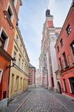 Famous Fara church in Poznan, Poland Stock Image