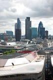 Famous financial hub London city Royalty Free Stock Photography