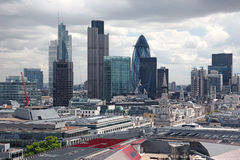 Famous financial hub in London , UK Stock Images