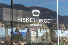 Famous Fish Market in Bergen Royalty Free Stock Photo