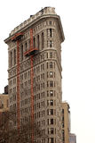 Famous Flatiron building undergoing a facelift, Manhattan Stock Image