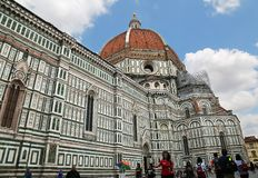 Famous Florence Cathedral in Florence, Tuscany, Italy Royalty Free Stock Photos