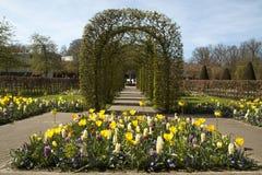 Famous flower park the keukenhof. Royalty Free Stock Images