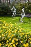 Famous flowers park Keukenhof in Netherlands Royalty Free Stock Image