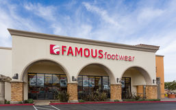 Famous Footwear Store Exterior stock photography
