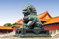 Famous forbidden city in Beijing, China Stock Photo