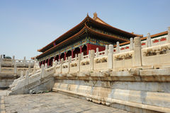 Famous forbidden city in Beijing, China Royalty Free Stock Image