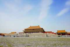 Famous forbidden city in Beijing, China Stock Images