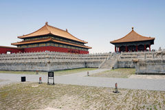 Famous forbidden city in Beijing, China Stock Photography