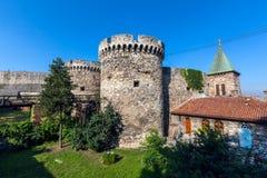 Famous fortress Kalemegdan in Belgrade. Serbia Stock Image