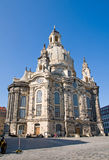 The famous Frauenkirche in Dresden Royalty Free Stock Photography