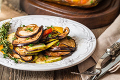 Famous French dish from Provence - Vegetable Ratatouille Royalty Free Stock Photos