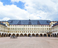 Famous Friedenstein Castle in Gotha Stock Images