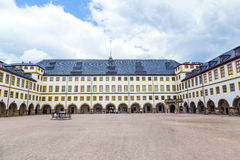 Famous Friedenstein Castle in Gotha Royalty Free Stock Photos