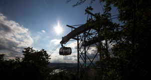 Famous funicular in koblenz germany Royalty Free Stock Photo