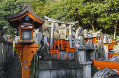Famous Fushimi Inari Shrine Royalty Free Stock Photography