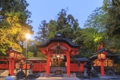 The famous Fushimi Inari-taisha in Kyoto Royalty Free Stock Image