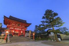 The famous Fushimi Inari-taisha in Kyoto Royalty Free Stock Photography
