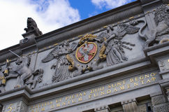 Famous gate in Gdansk, Poland Stock Image