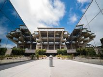 The famous Geisel Library of Universtiy of California San Diego stock image