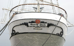 Famous german sailing ship Gorch Fock Stock Photos