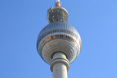 Famous German TV Tower Fernsehturm Stock Photography