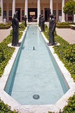 Famous Getty Villa Stock Photo