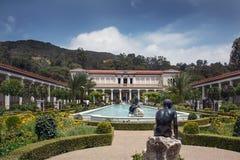 Famous Getty Villa Stock Image