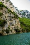 Furlo gorge, pass Marche Italy gola del furlo stock photography