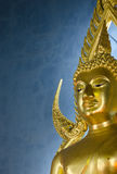 The famous Golden Buddha statue in Wat Benchamabophit in Bangkok Stock Image