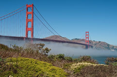 Famous golden gate bridge, san francisco Stock Photography