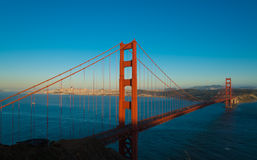 The famous Golden Gate Bridge in San Francisco California Royalty Free Stock Photography