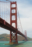 The famous Golden Gate Bridge in San Francisco California Royalty Free Stock Image