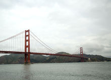 The famous Golden Gate Bridge in San Francisco Royalty Free Stock Photo