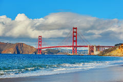 Famous Golden Gate bridge in San Francisco, USA Royalty Free Stock Photo